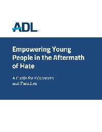Empowering Young People in the Aftermath of Hate THUMBNAIL