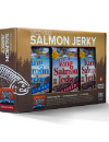 Wild Salmon Jerky 1 oz. Pouch 12 Pack Gift Pack THUMBNAIL