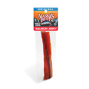 Wild Salmon Jerky 6 pack, 1 oz. Sticks THUMBNAIL