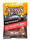 Wild Salmon Jerky 3 oz. Pouches SWATCH