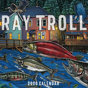 2020 Ray Troll Calendar SWATCH