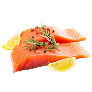 Wild Caught Fresh Frozen Sockeye Salmon (2lb) THUMBNAIL