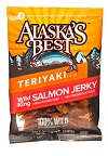 Wild Salmon Jerky 3 oz. Pouches Mini-Thumbnail