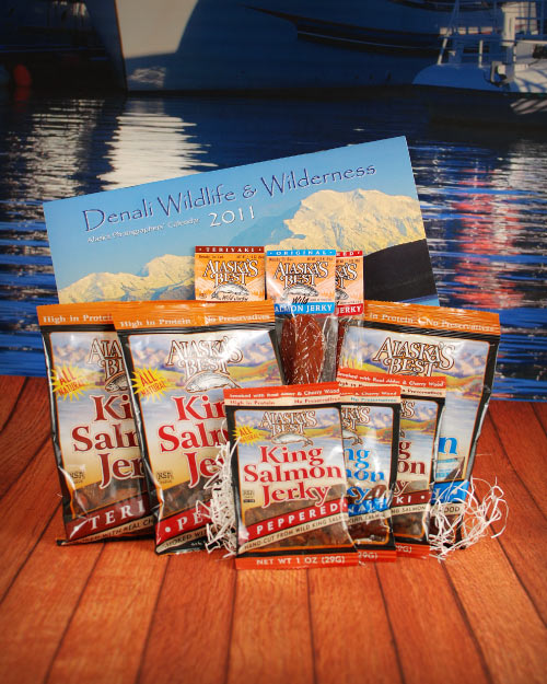 Wild King Salmon Jerky Sampler LARGE