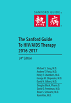 "HIV/AIDS Therapy 2016-2017 (Pocket Edition 4.375"" x 6.5"")"