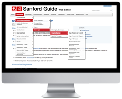 Sanford Guide Web Edition Subscription