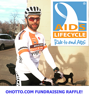 AIDS/LifeCycle Raffle Fund Raiser!