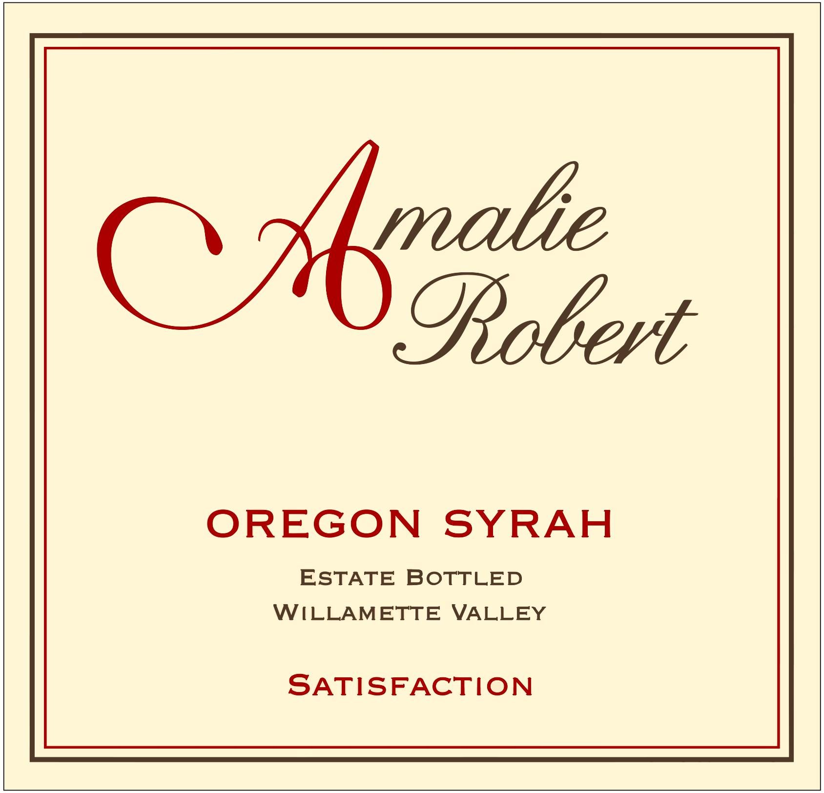 2014 Satisfaction Syrah - 93 pts Vinous MAIN