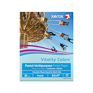 Xerox Vitality Colors Multi-Use Printer Paper, Letter Size (8-1/2in x 11in), 20 Lb MAIN
