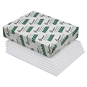 Copy Paper, Process Chlorine Free, Letter Size (8 1/2in x 11in), 100% Recycled, Case - Box Of 10 MAIN