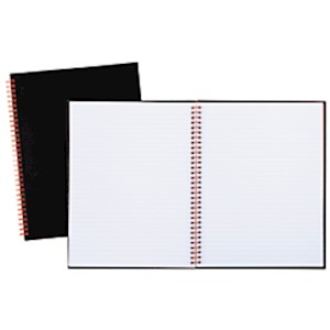 Black n Red Business Notebook, 8 1/2in x 11in, 1 Subject, Legal Ruled, 70 Sheets - 1 Each MAIN