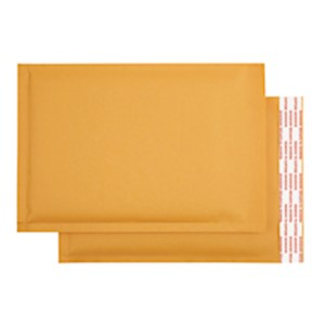 Office Depot Brand Self-Sealing Bubble Mailers, Size 0, 6in x 9 1/8in, Pack Of 25 - 25 / Carton MAIN
