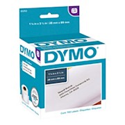 DYMO LW Address Label Rolls, 30252, Rectangular, 1 1/8in x 3 1/2in, White, 350 Labels - Box Of 2 THUMBNAIL