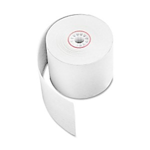 Adding Machine Tape, 2 1/4in x 165ft, White, (AbilityOne 7530-00-222-3455) - Roll Of 1 MAIN