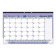 Brownline Monthly Desk Pad Calendar, 17-3/4in x 10-7/8in, January to December 2020 - 1 Each THUMBNAIL