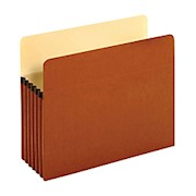 Pendaflex File Pockets, 5 1/4in Expansion, Letter Size, 30% Recycled, Brown, Box - Box Of 10 THUMBNAIL