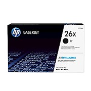 HP 26X High-Yield Black Toner Cartridge (CF226X) - 1 Each THUMBNAIL