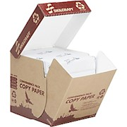 SKILCRAFT Ream-Wrapped Copy Paper, Letter Size (8 1/2in x 11in), 20 Lb, 100% Recycled - Box Of 2500 THUMBNAIL