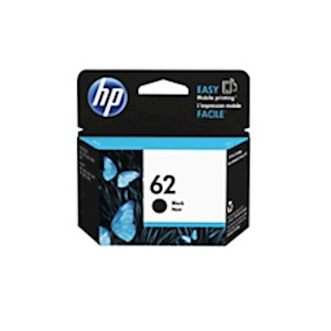 HP 62 Black Original Ink Cartridge (C2P04AN) - 1 Each MAIN