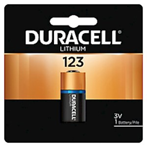 Duracell Photo 3-Volt Lithium 123 Batteries, Pack Of 1 - 1 Each MAIN