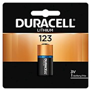 Duracell Photo 3-Volt Lithium 123 Batteries, Pack Of 1 - 1 Each THUMBNAIL