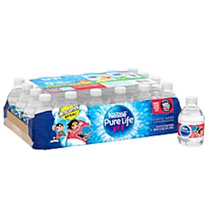Nestle Pure Life Purified Bottled Water, 8 Oz - Case Of 24 Bottles MAIN