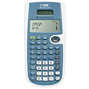 Texas Instruments TI-30XS MultiView Scientific Calculator, Blue - 1 Each MAIN