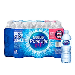 Nestle Pure Life Purified Bottled Water, 16.9 Oz - Case Of 24 Bottles MAIN