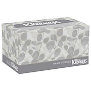 Kleenex 1-Ply Hand Towels In A Pop-Up Box, 9in x 10-1/2in - Box Of 120 Towels THUMBNAIL