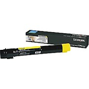 Lexmark X950 High-Yield Yellow Toner Cartridge - 1 Each THUMBNAIL
