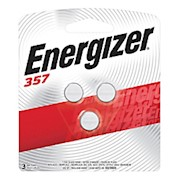 Energizer 1.5-Volt Calculator/Watch Battery, 357 - Pack Of 3 THUMBNAIL