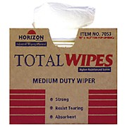 Wiping Towels, Heavy-Duty, Four-Ply, Box Of 150 (AbilityOne 7920-01-448-7053) - Box Of 150 THUMBNAIL