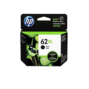 HP 62XL High Yield Black Original Ink Cartridge (C2P05AN) - 1 Each MAIN