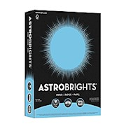 Neenah Astrobrights Bright Color Paper, Letter Size (8 1/2in x 11in), 24 Lb, 30% THUMBNAIL