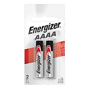Energizer Max AAAA Alkaline Batteries - Pack Of 2 MAIN