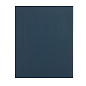 Office Depot Brand 2-Pocket Folders without Fasteners, Dark Blue, Pack of 25 MAIN