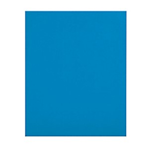 Office Depot Brand 2-Pocket Folders without Fasteners, Light Blue, Pack of 25 MAIN