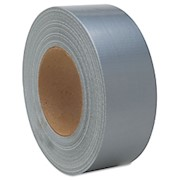 Duct Tape, 2in x 60 Yards, Silver (AbilityOne 5640-00-103-2254) - Roll Of 24 THUMBNAIL