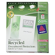 Document Protectors, Box Of 50 (AbilityOne 7510-01-236-0059) - Box Of 50 THUMBNAIL
