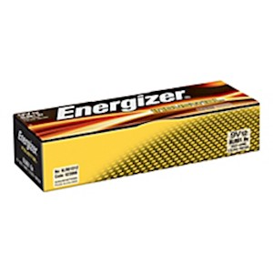Energizer Industrial Alkaline 9-Volt Batteries - Box Of 12 MAIN