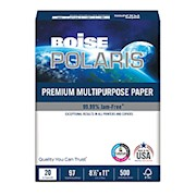 Boise POLARIS Premium Multi-Use Paper, Letter Size (8 1/2in x 11in), 20 Lb, FSC Certified THUMBNAIL