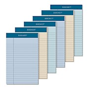 TOPS Prism+ Color Writing Pads, 5in x 8in, 100% Recycled, Legal Ruled, 50 Sheets - Pack Of 6 THUMBNAIL