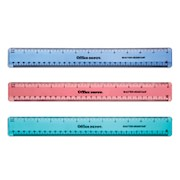 Office Depot Brand Plastic Ruler, 12in, Assorted Colors (No Color Choice) - 1 Each THUMBNAIL