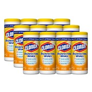 Clorox Disinfecting Wipes, Citrus Blend Scent, 35 Wipes Per Canister, Case Of 12 - 12 / Carton THUMBNAIL