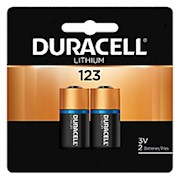 Duracell Photo 3-Volt Lithium 123 Batteries, Pack Of 2 - 1 Each THUMBNAIL