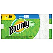 Bounty Select-A-Size 2-Ply Paper Towels, 11in x 5-15/16in, White - Pack Of 12 Giant THUMBNAIL
