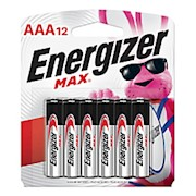 Energizer Max Alkaline AAA Batteries - Pack Of 12 THUMBNAIL