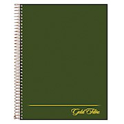 Ampad Gold Fibre Classic Project Planner, 7 1/4in x 9 1/2in, Green, Undated - 1 Each THUMBNAIL