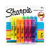 Sharpie Accent Tank-Style Highlighters, Assorted Colors - Pack Of 12 THUMBNAIL