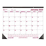 Brownline Monthly Desk Pad Calendar, 22in x 17in, January to December 2020 - 1 Each THUMBNAIL